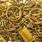 débris d'or