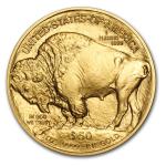 pièce or Buffalo