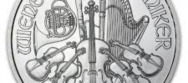 La pièce d'argent Philharmonique