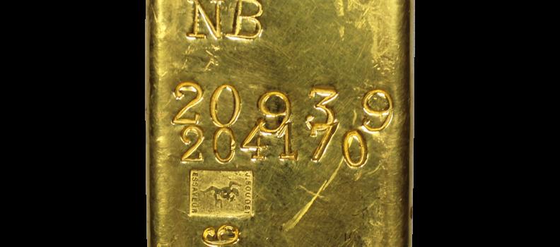 Le lingot d'or dépasse les 46 000 euros !