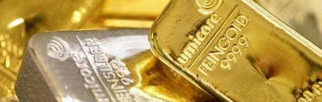 L'or et l'argent en hausse